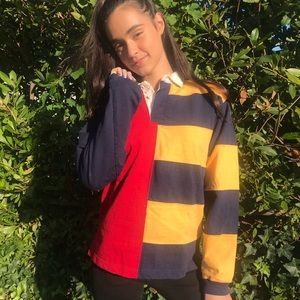primary ❤️💛💙 colorblocked pullover